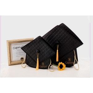 The Quilted Grad Bag - 17