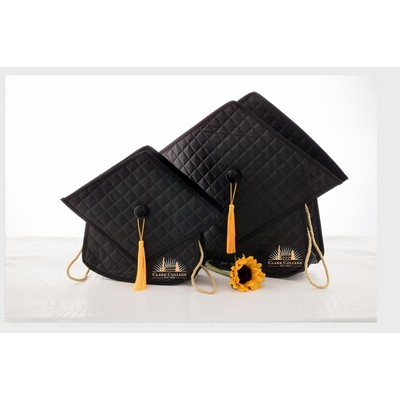 "The Quilted Grad Bag - 13""x15"""