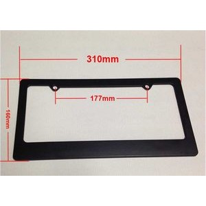 American Standard Size License Plate Frame for Automobile