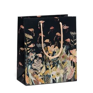 "210g C1S paper bag with full color imprint on all sides (6.25*8*2.5"")"