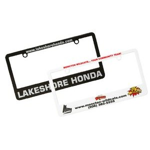 License Plate Frame (Screen/Pad Print)