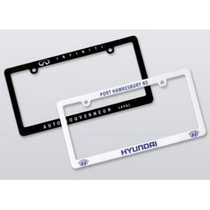 Thin License Plate Frame (Screen/Pad Print)
