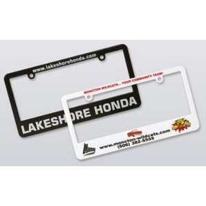 License Plate Frame (4-Color)
