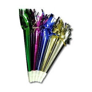 Metallic Flutes w/ Tinsel